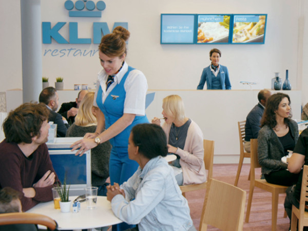 KLM & DDB & Tribal Amsterdam voeren campagne met We are an Airline