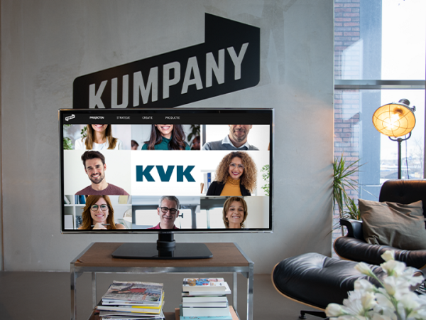 KVK gunt Kumpany en We Are Live aanbesteding events
